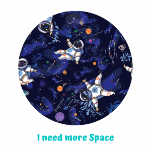 Otulacz PUL Little Birds - I need more Space - rozmiar S