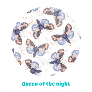 Otulacz PUL Little Birds - Queen of night - rozmiar S